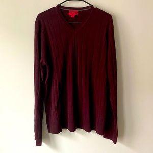 Alfani Slim Fit Merino Wool Blend Sweater NWT